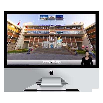 Erzurum Büyük Şehir Belediyesi Sanal Tur Projesi